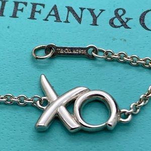 Tiffany & Co.925 XO P. Picasso Bracelet 7 Inches